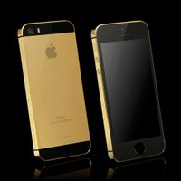 GoldGenie iphone5s真正土豪金高端大气上档次